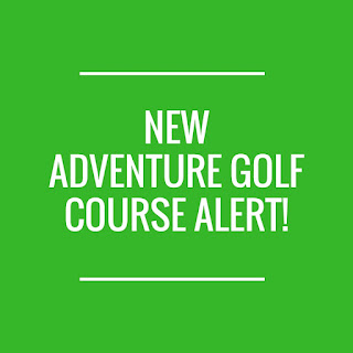 There's a new Paradise Island Adventure Golf opening soon at Rushden Lakes in Northamptonshire