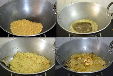 how to make millet pongal