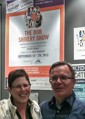 David Sealy, Anne McDonald, The Bob Shivery Show - photo by Shelley Banks