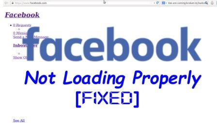 Facebook-not-loading-properly