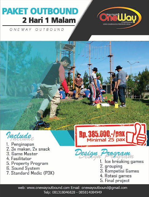 Outbound menginap