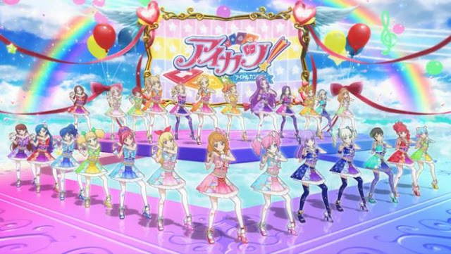 Aikatsu - Daftar Anime Tentang Idol Terbaik
