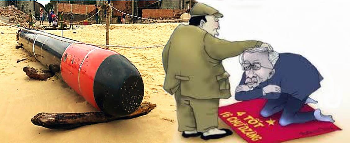 Bộ trưởng Quốc phòng Mỹ đến Việt Nam hai lần, Tập Cận Bình gởi tặng Nguyễn Phú Trọng một quả ngư lôi