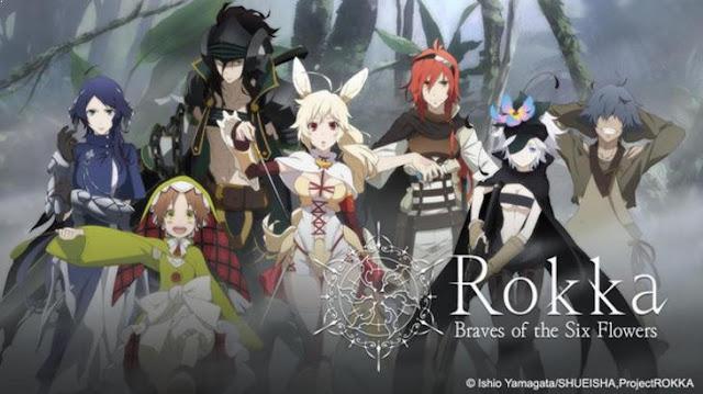 Rokka no Yuusha - Anime Action Fantasy Terbaik dan Terseru