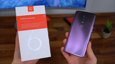 Oneplus 6T Thunder purple edition