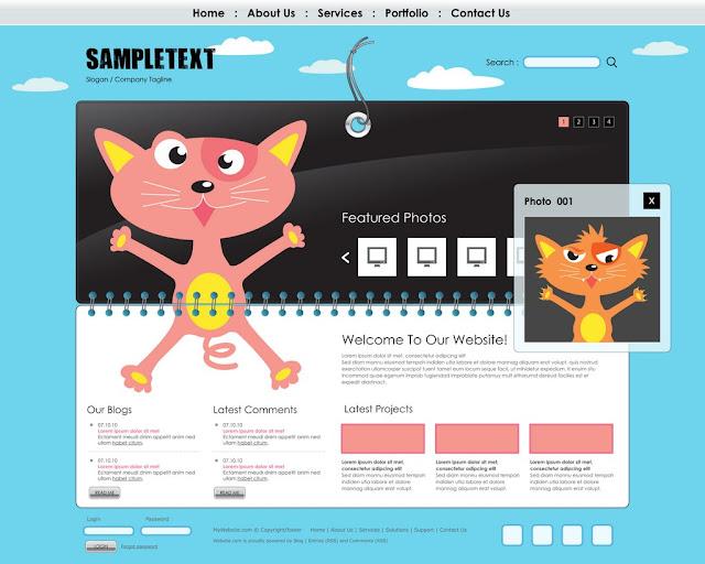 obrázok - úvodná stránka webu