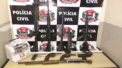 AÇÃO CONJUNTA ENTRE AS POLÍCIAS MILITAR E CIVIL RESULTA NO DESMANTELAMENTO DE PERIGOSA QUADRILHA QUE ATUAVA NO VALE DO RIBEIRA
