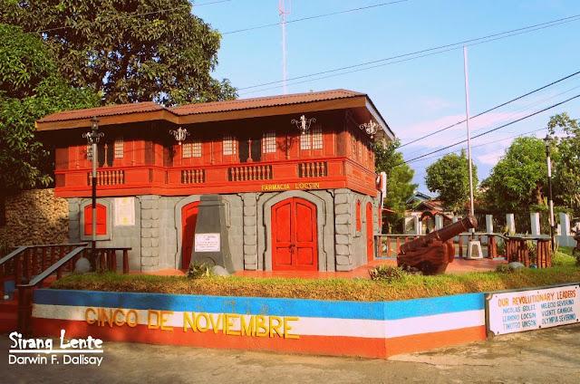 Cinco de Noviembre tourist spot in Negros
