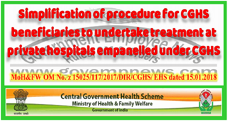 simplification-of-referral-system-under-cghs-govempnews