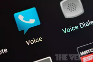 The Google Voice website is hinting at a big redesign