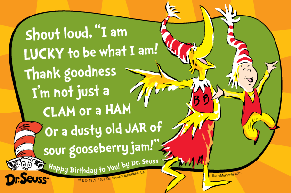 Dr Seuss Quotes About Friendship Pleasing Hermamas Happy Birthday Drseuss