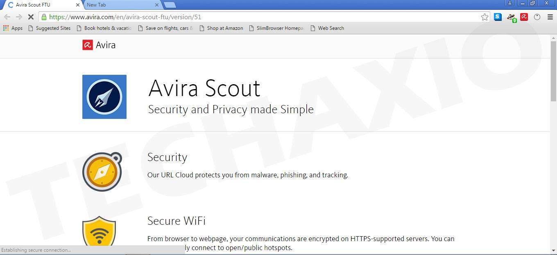 Avira Scout Screenshot