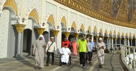 Syekh Khalid Al Hamudi Tinjau Kesiapan Tempat Pertemuan Da'i