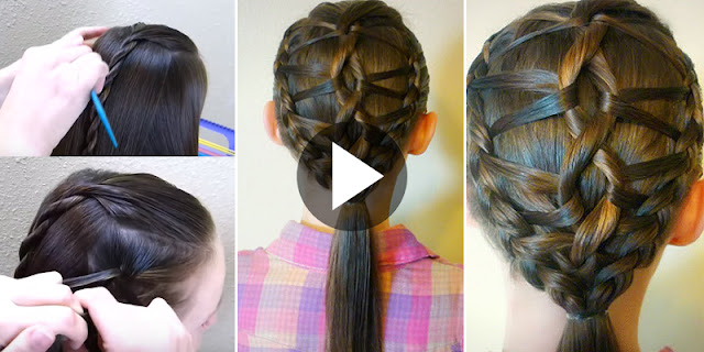 Learn - How To Create DNA Braid Hairstyle, See Quick Tutorial