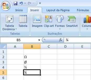 Excel - Substituição de caracteres