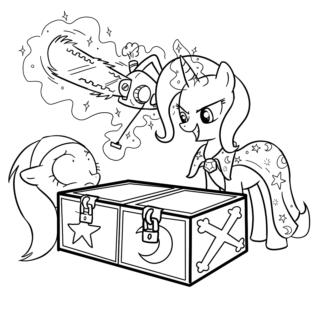 Equestria daily mlp stuff drawfriend stuff 176 my little pony coloring pages trixie
