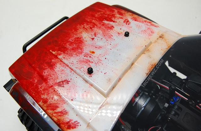 Traxxas TRX-4 hood paint