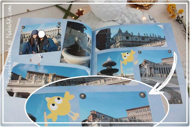 livre photo souvenir : Rome
