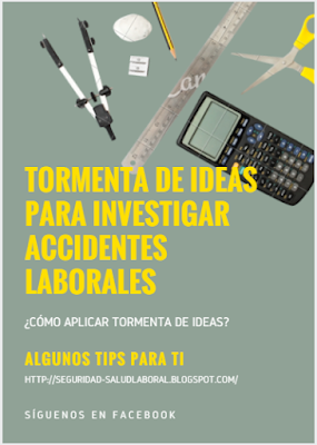 Tormenta de ideas para investigación de accidentes