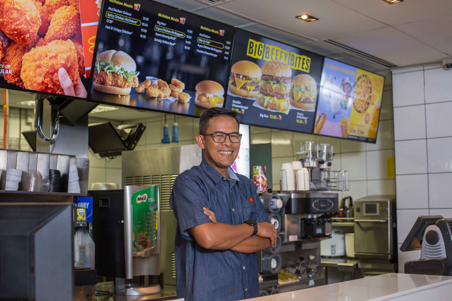 Azmir Jaafar,Managing Director and Local Operating Partner of McDonald's Malaysia