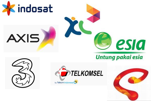 Operator provider di Indonesia