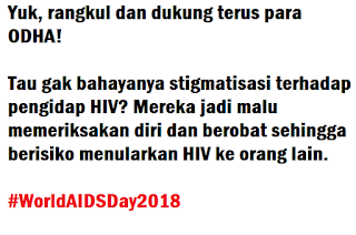 kata ucapan hari aids sedunia