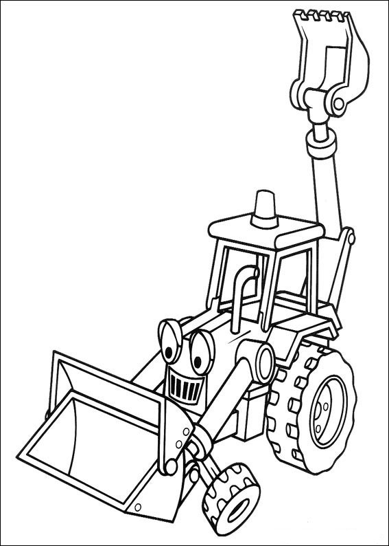 Print Coloring Bob The Builder Child Coloring