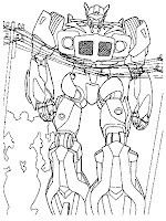 Megatron Transformers Coloring Pages Realistic
