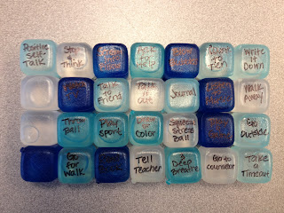 Crafty Counselor Chick Cool Down Cubes