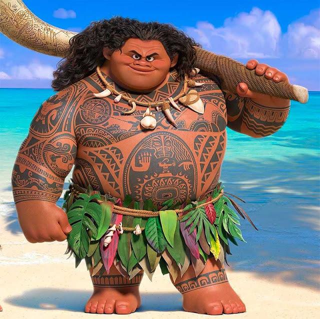 Maui filme Moana
