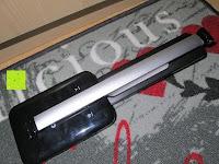 zusammenklappen: CRECO 7W LED Tischlampe 5 Helligkeitsstufen 3 Modi dimmbar 270° drehbar Schreibtischlampe Schwarz [Energieklasse A+]