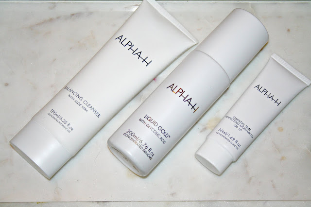 Alpha-H 3 Piece Radiant Skin Collection including 200ml Liquid Gold