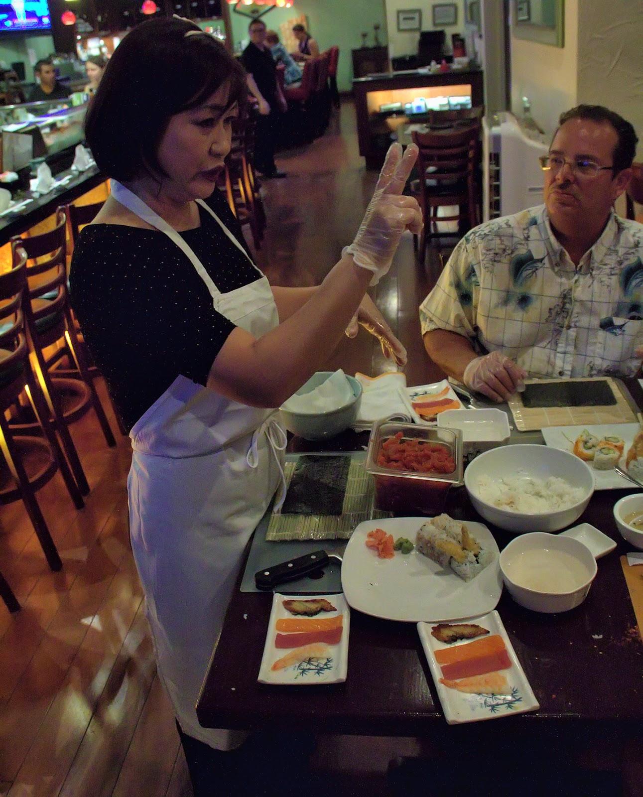 Southwest Florida Forks: Sushi Class at Origami Restaurant - photo#39