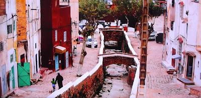 Fas'ta Bir Sokak resmi fotoğrafı