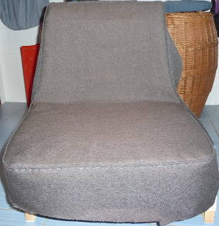 jak odnowić stary fotel z prl