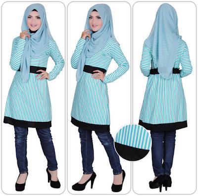 Fashion Hijab Untuk Orang Pendek 3