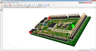 Screenshot 6 : DesignSpark PCB 3D Software PCB | Software Elektronika