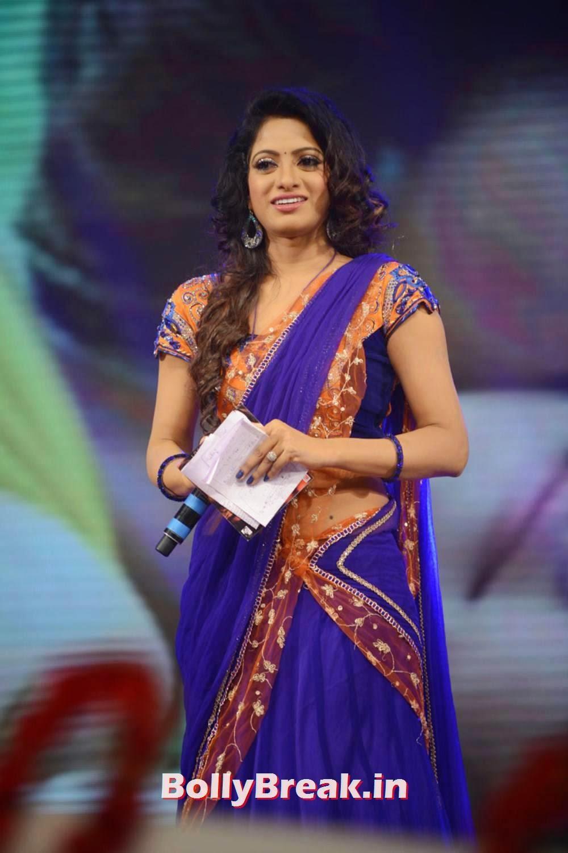 Udaya Bhanu In Blue - Film Actress - 9 Pics-1277