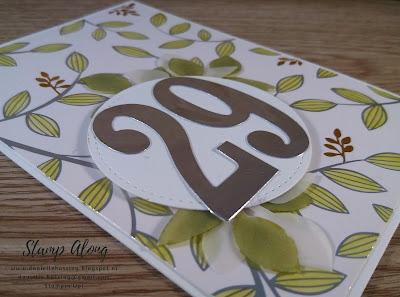 Stampin'Up! Springtime Foils Designer Series Paper