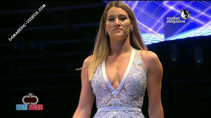 Micaela Viciconte hot cleavage see through Damageinc Videos HD