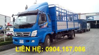 Xe Thaco Ollin 950A tải trọng 9.5 Tấn Hải Phòng