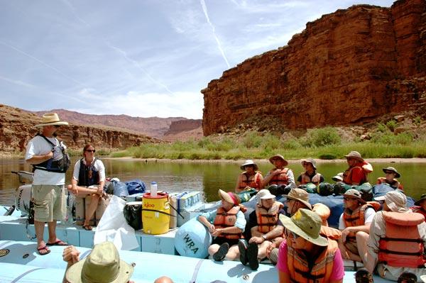 Wilderness River Adventures raft by Selep Imaging