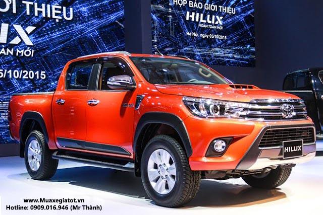 HILUX 2016 toyota toyota hung0vuong -  - Điểm danh 3 mẫu xe bán tải bán chạy nhất Việt Nam trong 6 tháng đầu năm