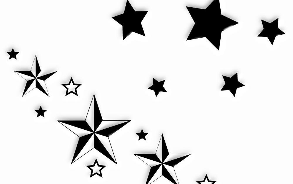 Tatuaż Wzory Tatuaży Gwiazdki Tatuaże Wzory