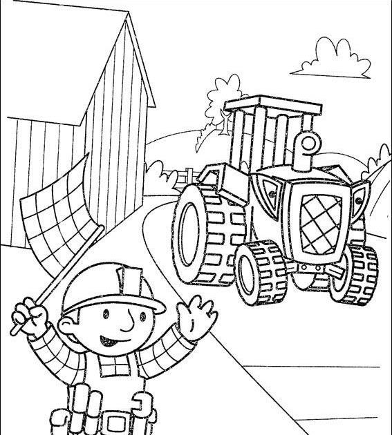 Colorir E Pintar: Desenhar Bob O Construtor
