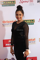 Vennela in Transparent Black Skin Tight Backless Stunning Dress at Mirchi Music Awards South 2017 ~  Exclusive Celebrities Galleries 018.JPG