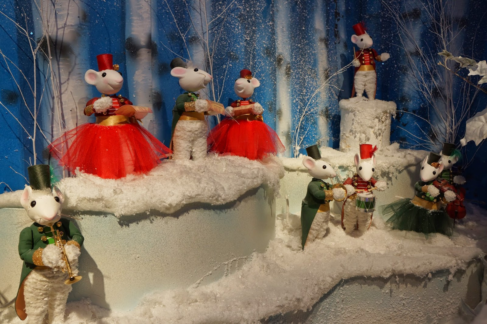 harrods christmas santa's grotto 2014 mouse mice