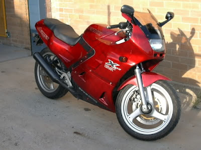 suzuki gsx 250f service manual