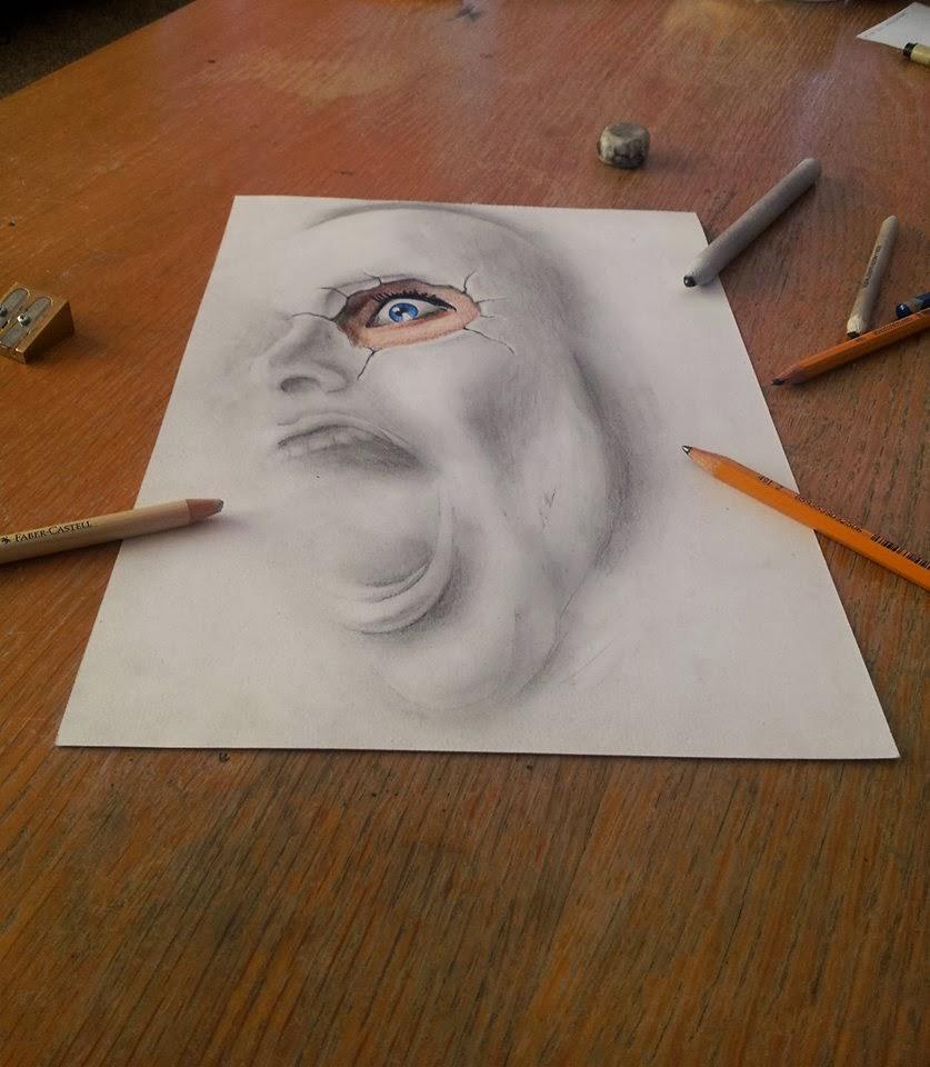 Lukisan Pensil 3D | Blog Urang Kuningan