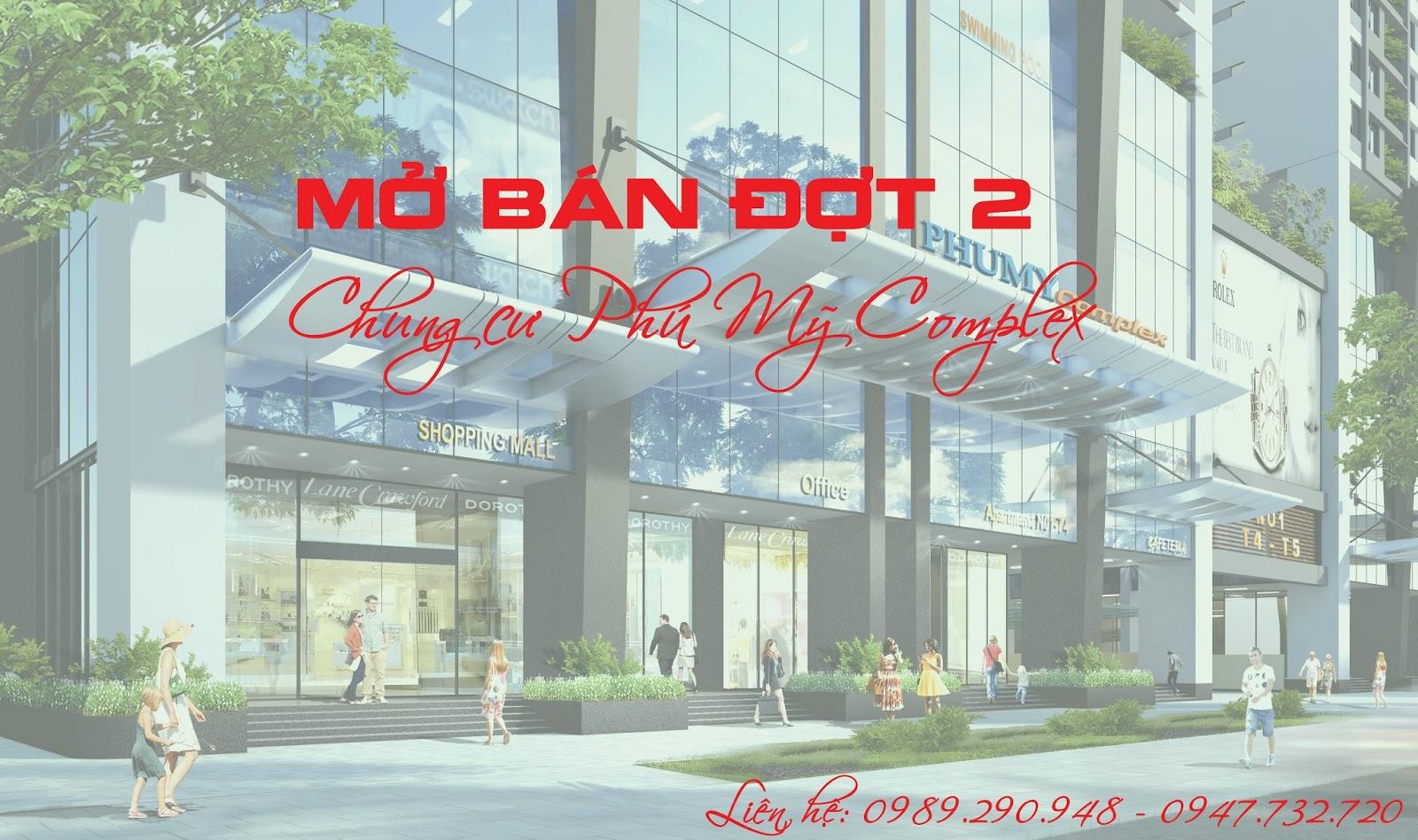 Mở bán đợt 2 chung cư Phú Mỹ Complex - N01T4 Ngoại Giao Đoàn